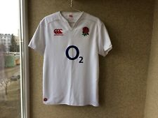 England Home Rugby Union Shirt 2015/2016 Jersey L Canterbury Playern Issue