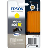Genuine Epson 405XL High Capacity Yellow Ink Cartridge T05H44 for Epson Printers