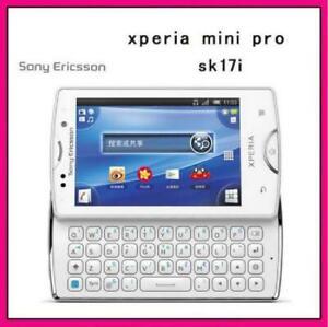 Sony Ericsson Xperia mini pro X10 mini pro2 SK17 SK17i SK17a 3G WIFI Slide Phone