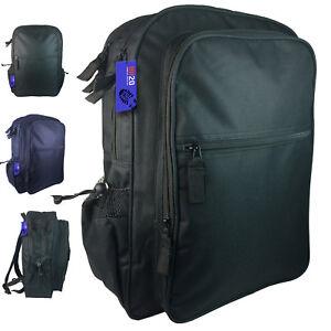 Backpack Rucksack Large Big Plain Square Rectangle Boys Mens Girls School Travel