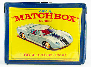 Vintage 1968 Lesney Official Matchbox Series Collector's 48 Slot Carrying Case