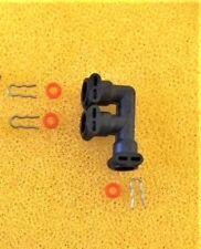 1x Anschlusswinkel  für den Jura Thermoblock 2003, F-Form  neue Version /R121