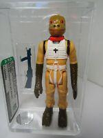 Vintage Loose 1980 Star Wars: ESB Bossk (Olive Head/Flat Paint) Figure AFA 85