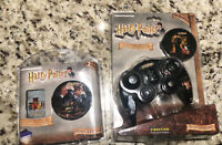 Thrustmaster harry potter gamecube remote & memory card, original package, RARE
