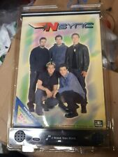 "New 2000 Zeeks Sealed Nsync Musical Poster 8"" x 11"