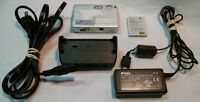 Nikon Coolpix S1 Digital Camera 5MP 3x Optical Zoom Silver Used Working