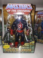 NINJA WARRIOR / NINJOR  Masters of the Universe - MOTU Classics - MOTUC
