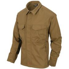 Helikon-Tex Woodsman Shirt Coyote/Taiga Green Outdoor Bushcraft