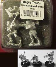 Judge Dredd RT102 Rogue Trooper Genetic Infantryman (3) 28mm Miniatures Infantry