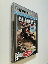 CALL OF DUTY 2 BIG RED ONE Ps2 - Playstation 2 GIOCO SPARATUTTO IN PRIMA PERSONA