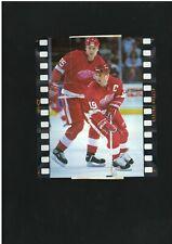 1994 ACTION PACKED DETROIT RED WINGS STEVE YZERMAN CARD #BP4