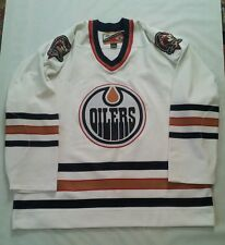 RARE PRO PLAYER NHL AUTHENTIC CENTER ICE EDMONTON OILERS HOCKEY JERSEY SIZE 56