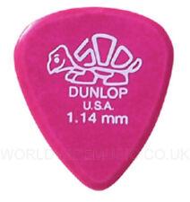 Pack de 12 Dunlop Delrin 500 guitar picks / plectrums 1.14 mm (Pack de 12 pics)