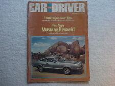 Car and Driver September 1973 Mustang 11 Mach 1, Camaro LT Z-28, Austin Marina