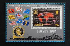 ILE DE JERSEY - timbre Stamp Yvert et Tellier Bloc n°3 n** (cyn2)