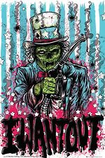 POLITICAL POSTER~I Want Out Uncle Sam Zombie You Disturbia Army Gasoline Prices~