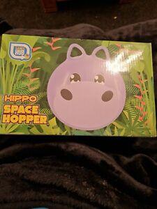 Hippo Face Space hopper 40x40cm. 3+yrs