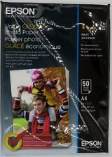 Papier Epson Glossy Photo A4 50 feuilles 183g C13S400036