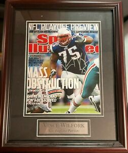 Vince Wilfork Autographed 2011 Sports Illustrated Magazine New England Patriots