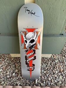 Tony Hawk Autographed Birdhouse Skateboard Deck Chicken Skull NEW
