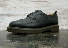 Mens Dr Doc Martens Wingtip Oxford Shoes Sz 12 46 M Used Black Leather 3989/59