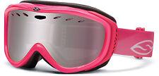 Smith Cadence Womens Snowboard/Ski Goggles Pink Ingintor Mirror, RC36 Bonus lens