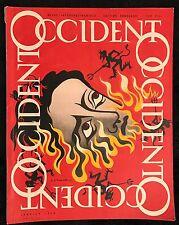 """CASSANDRE AM """"OCCIDENT""""  DE JANVIER 1948"""