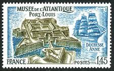 France 1506, MNH. Atlantic Museum, Port Louis. Ship, 1976