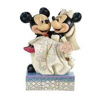 Enesco Disney Traditions Mickey And Minnie Wedding Figure NEW Collectibles