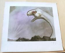 """Manfred Reusing (Mares) - Kunstdruck - """"Schlange"""" - sign/numm/dat.1976 - 38x41cm"""