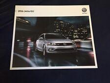 2016 VW Volkswagen Jetta GLI USA Market Brochure Catalog Prospekt