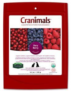 Cranimals Very Berry for Cats & Dogs 120g Vegan Supplement Antioxidant
