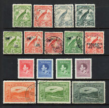NEW GUINEA COLLECTION, 16 Used Stamps, Condition as Displayed