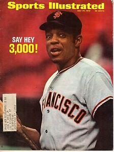 1970 Sports Illustrated baseball magazine Willie Mays, San Francisco Giants VG