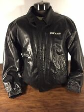 Port Authority Mens Black Leather Jacket small