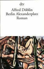 Berlin Alexanderplatz: Die Geschichte vom Franz Biberkop...   Buch   Zustand gut