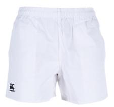 Canterbury Blanco Profesional de Algodón Pantalones Cortos Juniors chicos 14 años * REF145