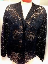Brioni Jacket /Black Lace Size 38
