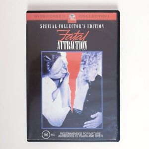 Fatal Attraction Movie DVD Region 4 AUS Free Postage - Thriller Drama