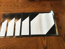 (5)New Old Stock LABELMASTER Vinyl Limited Quantity Marking,273mmx273mm, 35ZM09