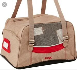 Kurgo Metro Airline approved Dog Carrier Red Beige Color - Brand NEW