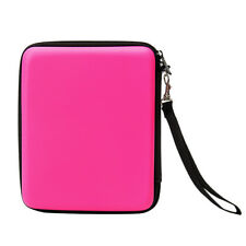 PINK- Carry Storage Hard Protective Case Cover For Nintendo 2DS Game With Zip