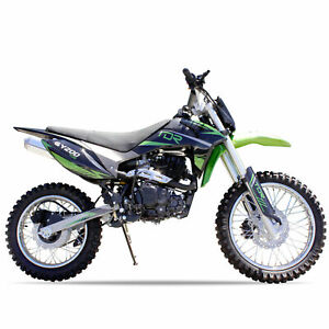 Green - 200cc Bigfoot Racing Pit Dirt Bike Trail Off-Road Motocross Motorcycles