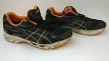 ASICS Gel Virage T118N Athletic Shoes Running Men Black Orange US 10.5 EUR 44.5