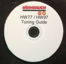 WEIHRAUCH HW77/97 TUNING GUIDE,PRINTED DVD+TARGETS
