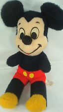 Mickey Mouse Walt Disney Characters Vintage Plush California Stuffed Toys