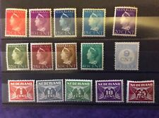 Netherlands stamps - Small um selection (1930's-40's)