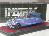 (KI-05-19) Matrix Mercedes-Benz 770 Cabriolet von Hermann Göring in 1:43 in OVP
