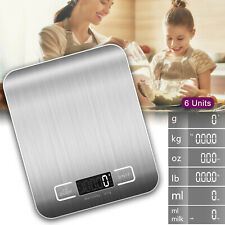 11lbs,5KG Kitchen Food Electronic Scale for Cooking Baking Diets Weight Balance