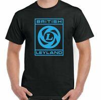 British Leyland T-Shirt Lorry Logo Mens Retro Car ManufacturerRover Mini Austin